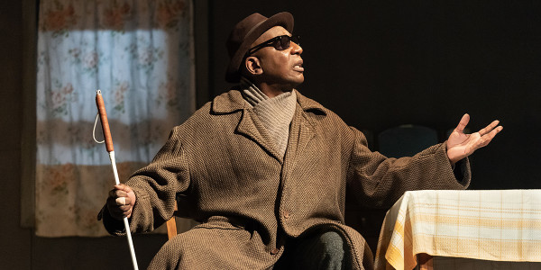 Colin Mcfarlane in Pinter Five (Photo: Marc Brenner)