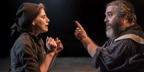 Judy Kuhn and Andy Nyman in Fiddler On The Roof (Photo: Johan Persson)