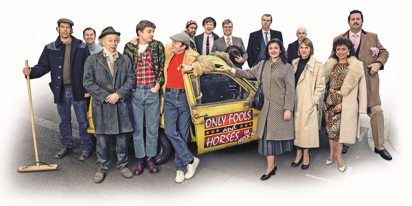 The cast of Only Fools And Horses The Musical