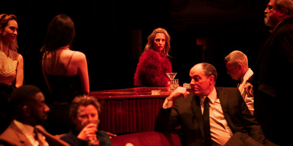 Gillian Anderson and the cast of All About Eve at the Noël Coward Theatre (Photo: Jan Versweyveld)