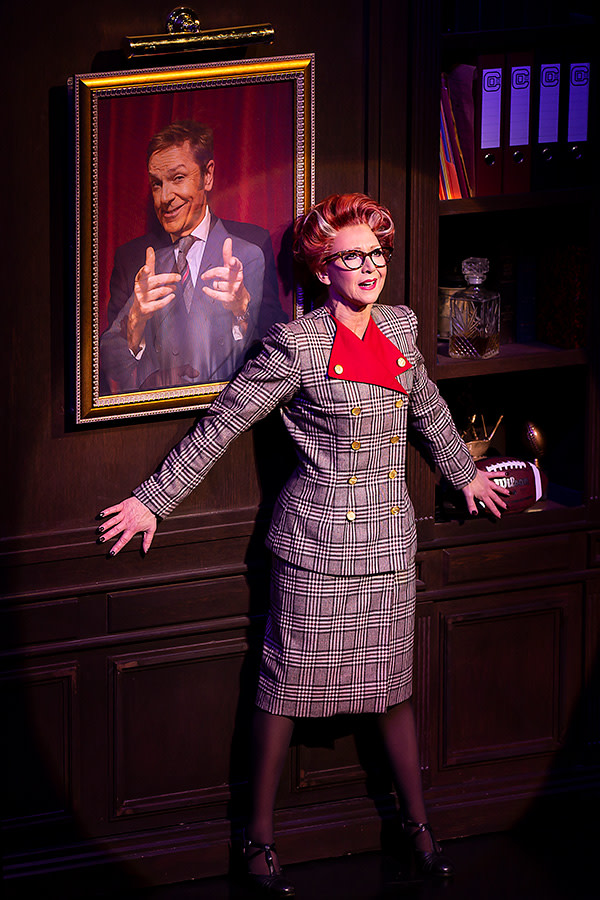 Bonnie Langford (Roz Keith) in 9 To 5 (Photo: Pamela Raith)