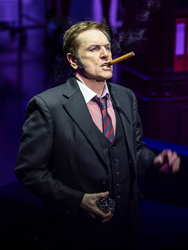Brian Conley (Franklin Hart) in 9 To 5 The Musical (Photo: Pamela Raith)