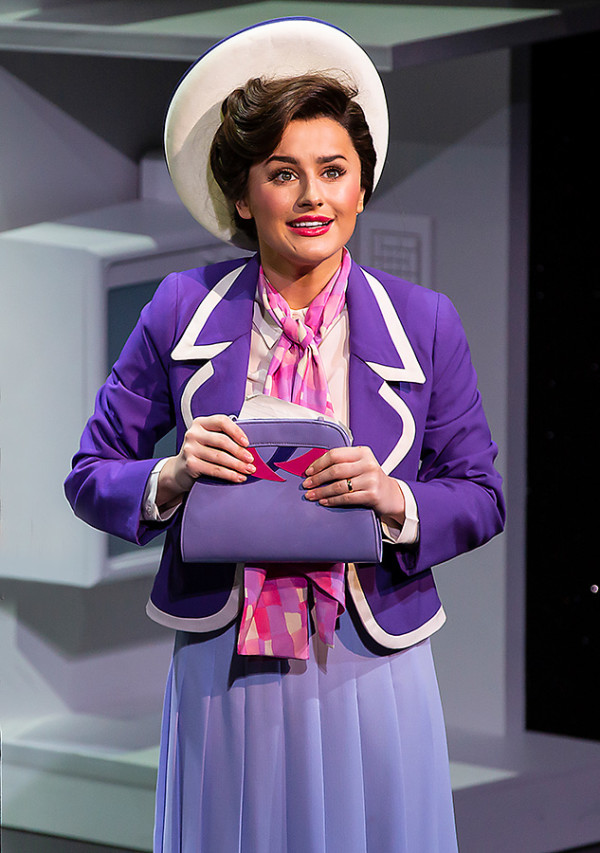 Amber Davies (Judy Bernly) in 9 To 5 (Photo: Pamela Raith)