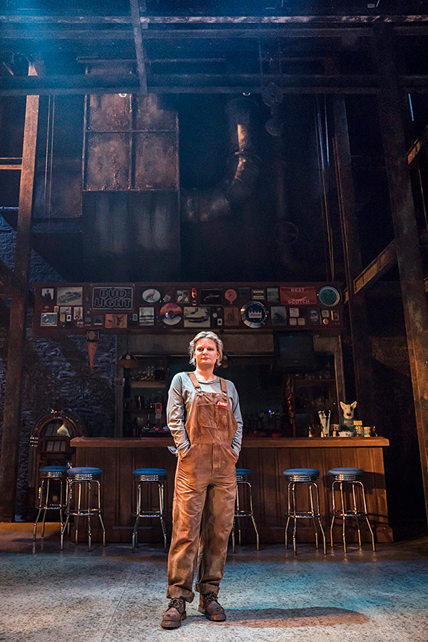 Martha Plimpton (Tracey) in Sweat at the Donmar Warehouse (Photo: Johan Persson)