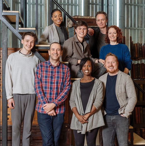 Michelle Gayle and the principal cast of Harry Potter And The Cursed Child (Photo: Manuel Harlan)