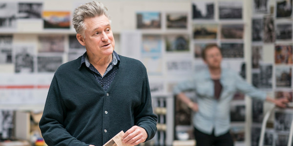 Bill Pullman in rehearsal for All My Sons at The Old Vic (Photo: Johan Persson)