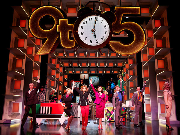 Louise Redknapp in 9 To 5 The Musical (Photo: Simon Turtle)