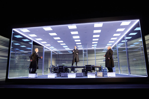 Es Devlin's set design in The Lehman Trilogy (Photo: Mark Douet)