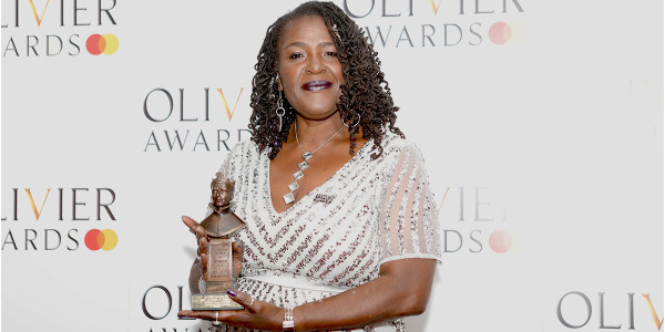 Sharon D Clarke, winner of the Best Actress in a Musical Award