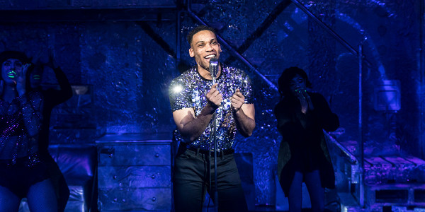 Shaq Taylor in Sweet Charity at the Donmar Warehouse (Photo: Johan Persson)