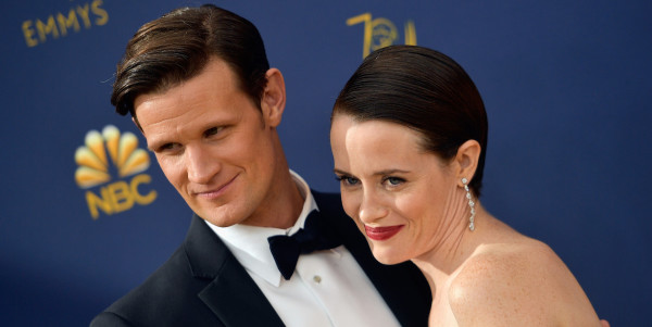 Matt Smith and Claire Foy - credit . Matt Winkelmeyer | Getty Images