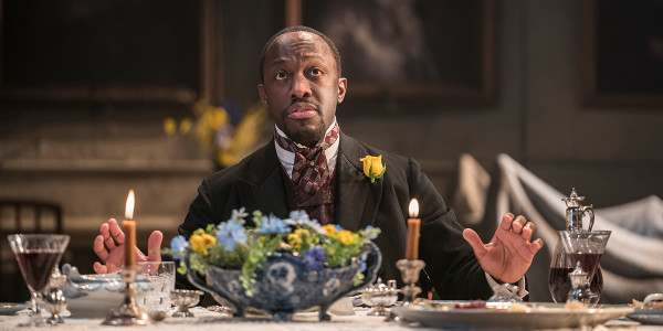 Giles Terera in Rosmersholm (Photo: Johan Persson)