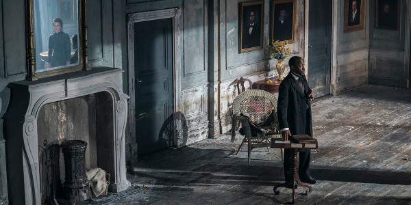Hayley Atwell and Giles Terera in Rosmersholm (Photo: Johan Persson)