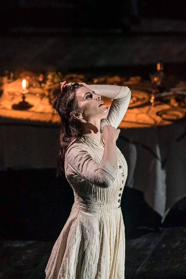 Hayley Atwell in Rosmersholm (Photo: Johan Persson)