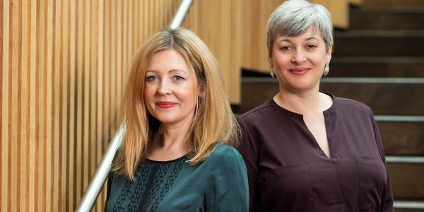 Rachel O'Riordan and Sian Alexander_Lyric Hammersmith Theatre 2019- Photo Credit - Helen Maybanks