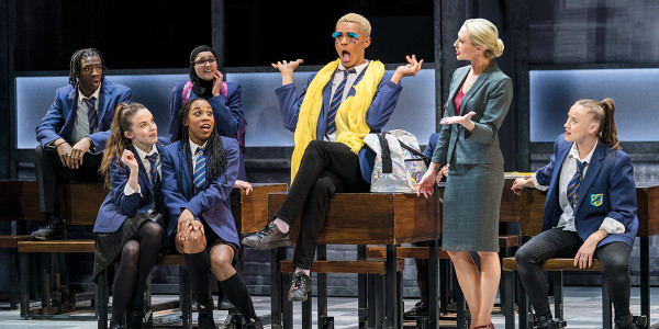 Layton Williams and Faye Tozer in Everybody's Talking About Jamie (Photo: Matt Crockett)