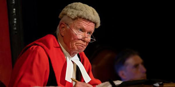 Michael Cochrane in Witness For The Prosecution (Photo: Ellie Kurttz)