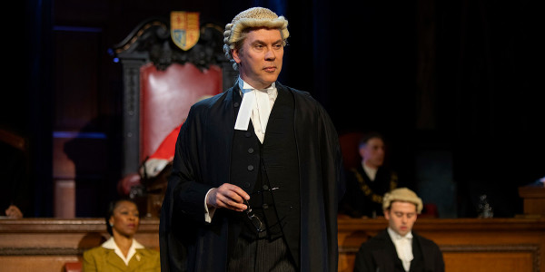 Giles Taylor in Witness For The Prosecution (Photo: Ellie Kurttz)