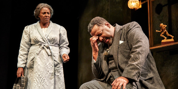 Sharon D Clarke and Wendell Piece in Death Of A Salesman (Photo: Brinkhoff/Mogenburg)