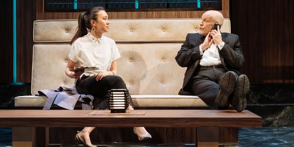 Ioanna Kimbook and John Malkovich in Bitter Wheat (Photo: Manuel Harlan)