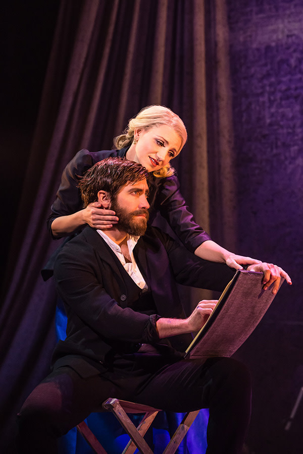 Annaleigh Ashford and Jake Gyllenhaal in Sunday In The Park With George (Photo: Matthew Murphy)
