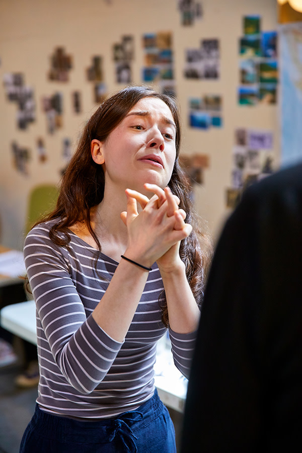 Emma Canning in rehearsal for The Night Of The Iguana (Photo: Brinkhoff/Moegenburg)