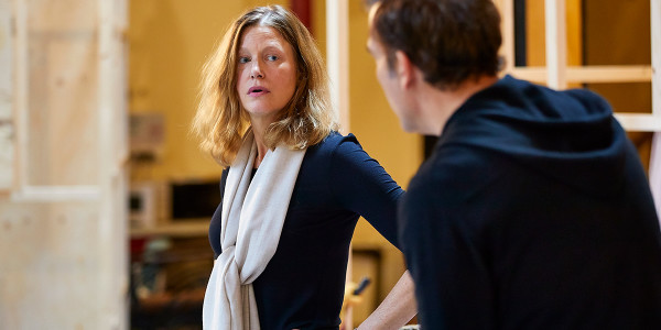 Anna Gunn in rehearsal for The Night Of The Iguana (Photo: Brinkhoff/Moegenburg)