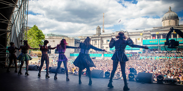 Six The Musical at West End LIVE 2019 (Photo: Pamela Raith)