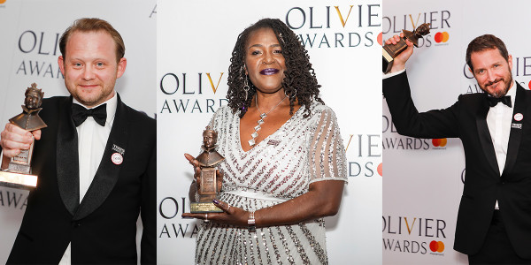 Michael Jibson, Sharon D Clarke and Bertie Carvel