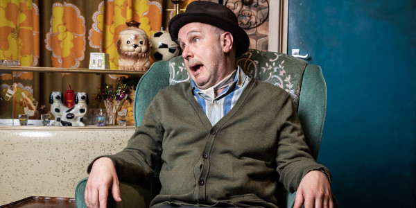 Andy Mace will temporarily take over the role of Grandad in Only Fools And Horses The Musical.