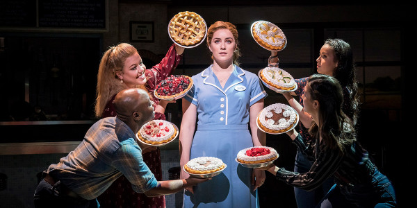 Lucie Jones in Waitress at the Adelphi Theatre