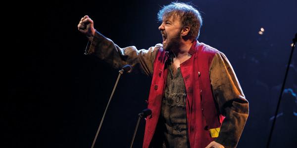 John Owen-Jones as Jean Valjean (at certain performances) - Photograph Matt Murphy
