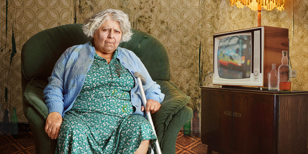 Miriam Margolyes as Nell in Sydney & The Old Girl
