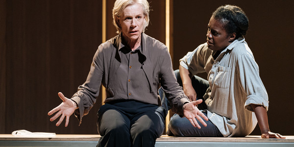 Juliet Stevenson and Joy Richardson in The Doctor. Photo by Manuel Harlan