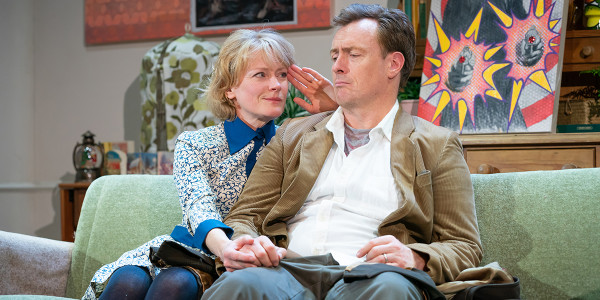 Claire Skinner & Toby Stephens in A Day In The Death Of Joe Egg