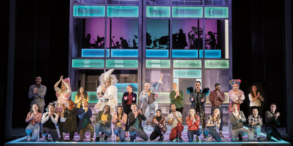 London Theatre News today: The new cast of Everybody's Talking About Jamie. Photo by Matt Crockett