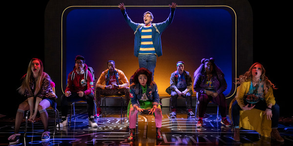 Ensemble of the Broadway production of Be More Chill