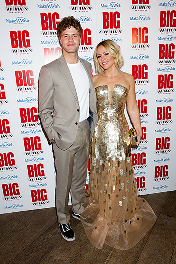 Jay McGuiness interview: Jay and Kimberly at the Big gala