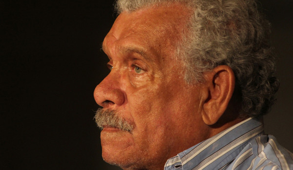 Joseph Marcell interview: Derek Walcott. Photo by Jorge Mejia Peralta