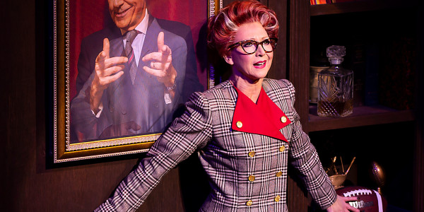 Bonnie Langford as Roz Keith in 9 To 5. Photo by Pamela Raith