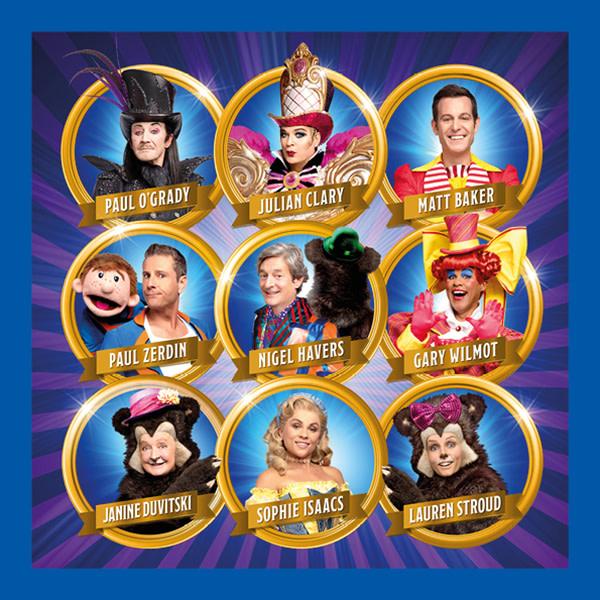 The cast of Goldilocks & The Three Bears