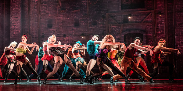 The original Broadway cast of Moulin Rouge! the Musical. Photo by Matthew Murphy