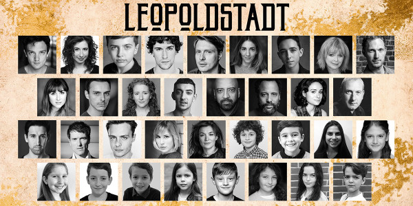 The cast of Leopoldstadt