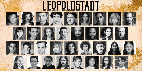 The cast of Leopoldstadt