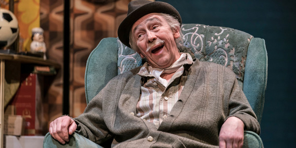 Paul Whitehouse as Grandad in Only Fools And Horses The Musical