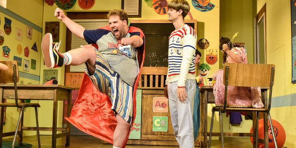 Henry Lewis and Henry Shields in Groan Ups. Photo by Robert Day.