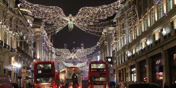 Regent Street Christmas lights - the spirit of Christmas.