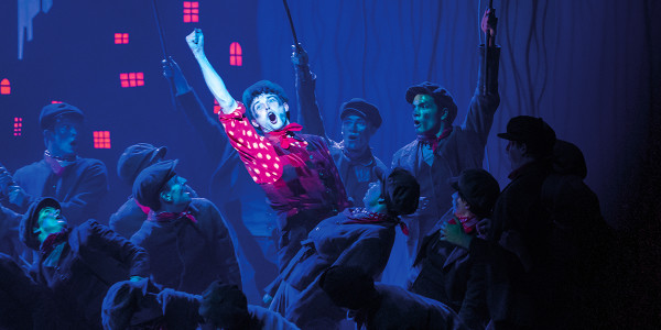 Charlie Stemp and Company in Mary Poppins. Photo by Johan Persson.