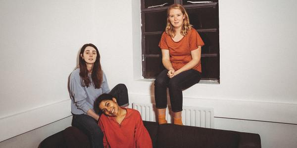 Bottom to top: Rebekah Murrell, Tanya Reynolds, Letty Thomas. Photo by Helen Murray
