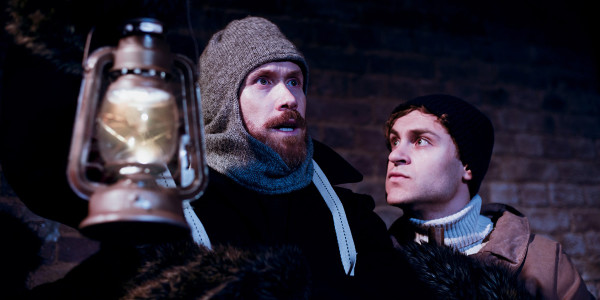 Richard Ede and Elliott Ross in Shackleton and His Stowaway